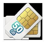 50gb - Chip Prepago