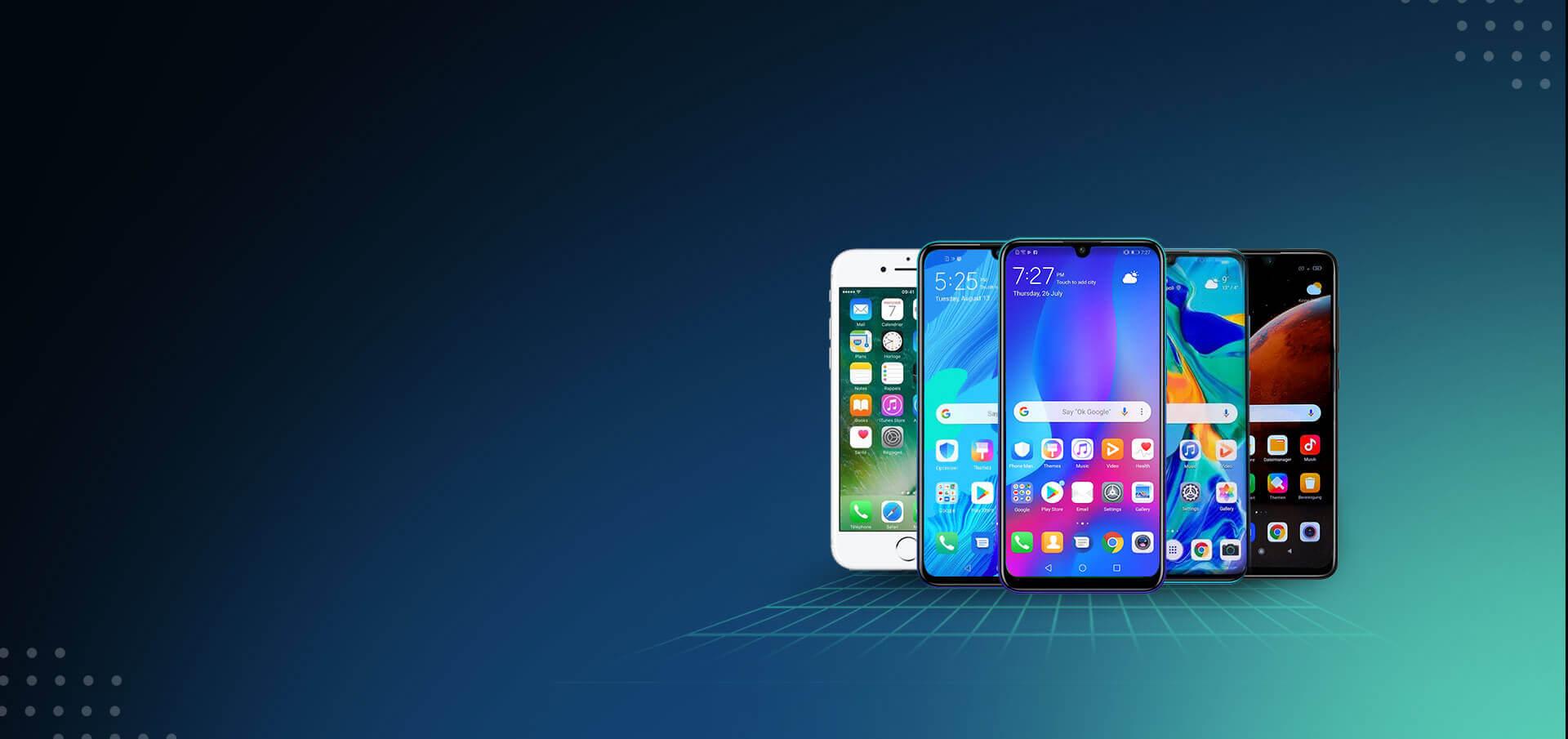 smartphones - Inicio